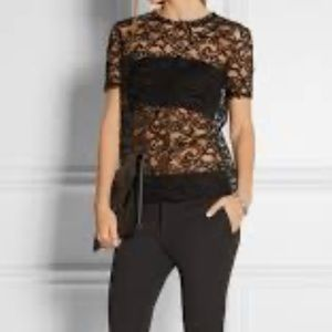 Nina Ricci cornelli lace top